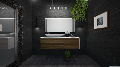 office bathroom - Bathroom  - by Zhaneinteriors