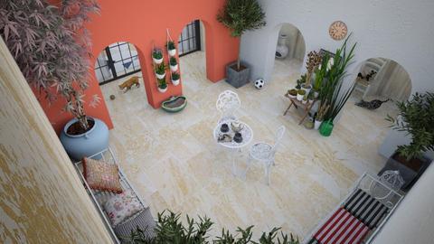 Courtyard garden - by RHD