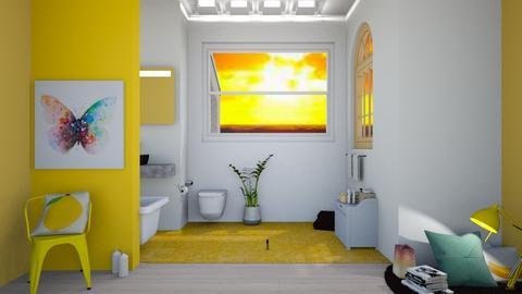 Lemon Bathroom - Bathroom - by Taxi girl