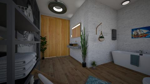 nautical - Bathroom  - by _friedmomo_