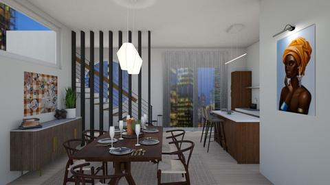 Scandi Living - Global - Living room  - by SunflowerStudios