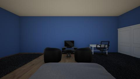 m - Masculine - Bedroom  - by ibdesignclass