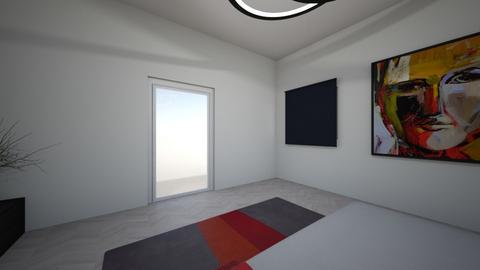 bedroom minimalist - Minimal - Bedroom  - by Corag66