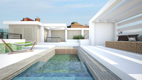 Rooftop - Garden  - by StienAerts
