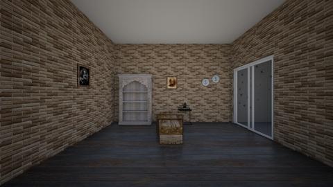 Halloween bedroom - Vintage - Bedroom  - by ChristmasHamster