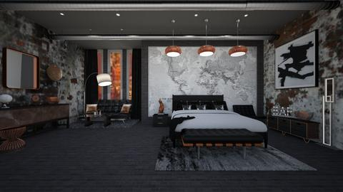 MAN OF THE HOUSE - Masculine - Bedroom  - by RS Designs