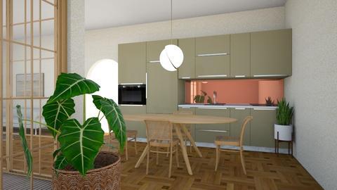 70s kitchen - Kitchen  - by jkulawiecova