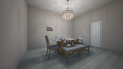 5 seater ding tabe apart - Dining room - by emma hiil