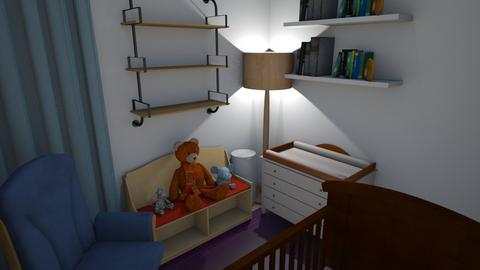 Fin - Kids room  - by alinalv