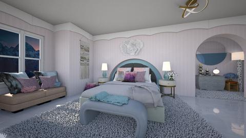 blurry bedroom - by Christine Keller