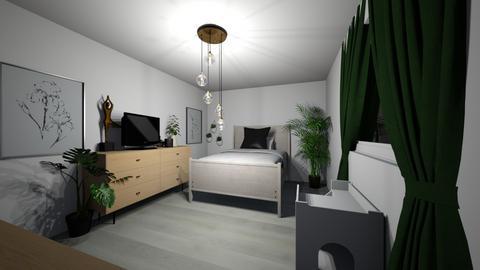 A pretty room - Minimal - Bedroom  - by jaylynnortega