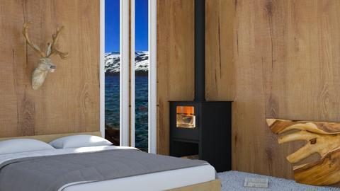 Wooden - Minimal - Bedroom  - by n i n i