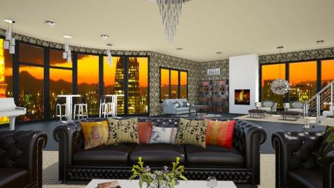 Sunset in France - Eclectic - Living room  - by Designer V