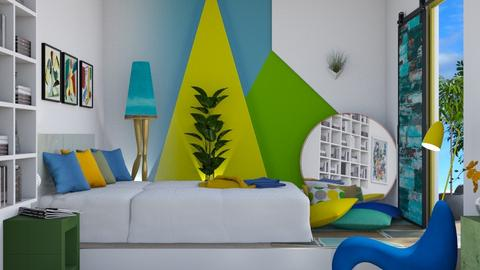 M_ BYG  - Bedroom  - by milyca8