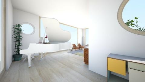 new living - Retro - Living room  - by chriscameron
