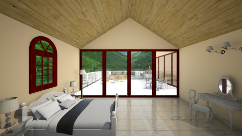 Villa - Glamour - Bedroom - by christoforos