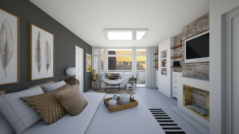 Bedroom redesign 2 - Modern - Bedroom  - by GoliaNova