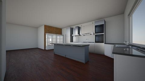 House - Kitchen  - by CourtneyH_16