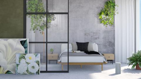 Bedroom remix - Modern - Bedroom  - by Thepanneledroom