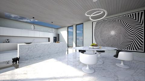 designer breakfast room - Minimal - Kitchen  - by kitty