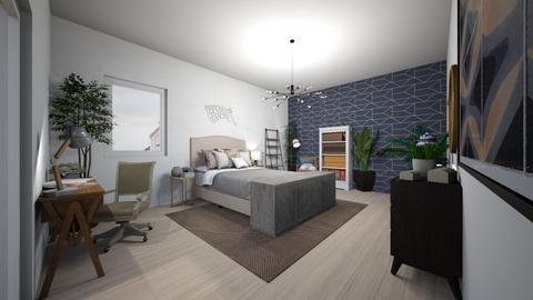 Minimalist Bedroom - Minimal - Bedroom  - by saricamila