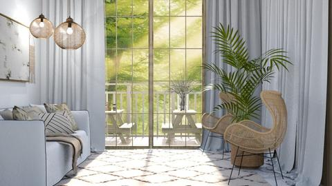 Design 1 - Living room  - by TropicalWeed