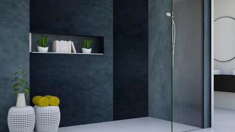 Modern Bathroom 2 - Modern - Bathroom  - by Aristar_bucks