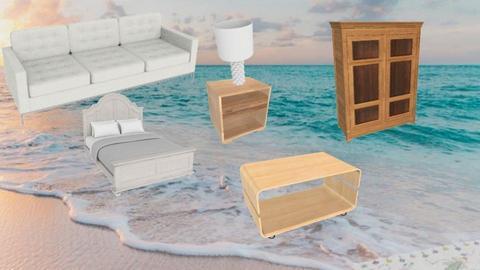 Fun beachhouse moodboard - by Benny Berman