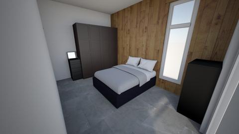 Brandslangstraat Bed 1 - Eclectic - Bedroom  - by Patrickvh3