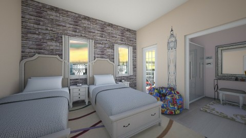 princess - Kids room  - by emiragiba