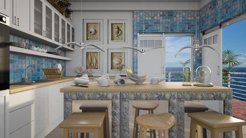 ocean kitchen  - by Ida Dzanovic