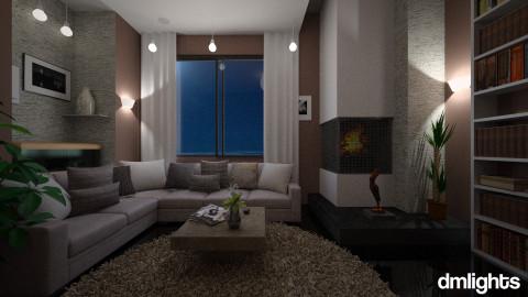 Simple design - Living room - by DMLights-user-982312