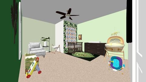 nersury  - Kids room  - by Destiny Komar