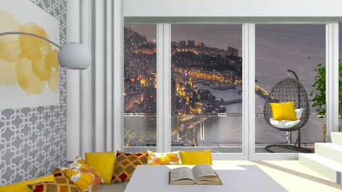 Penthouse City View - Vintage - Kids room - by HUNOR