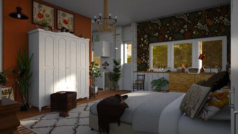 basic home - Vintage - Bedroom  - by jjannnii