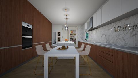 157 EAST - Kitchen - by flacazarataca_1