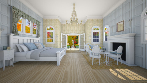 Colonial - Classic - Bedroom  - by Ali Ruth