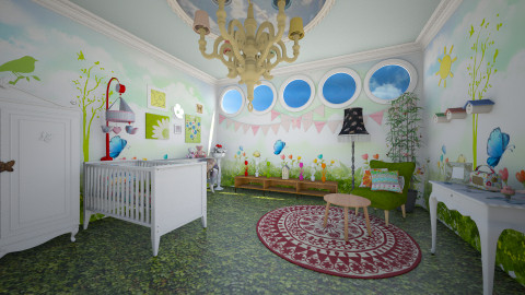 meadow baby - Country - Kids room  - by donella