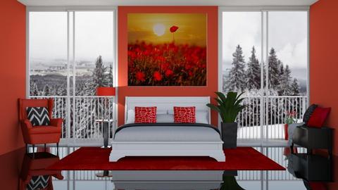 Poppies - Bedroom  - by LaylaaaarrrJF