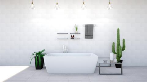 Garden in door - Modern - Bathroom  - by Mufix