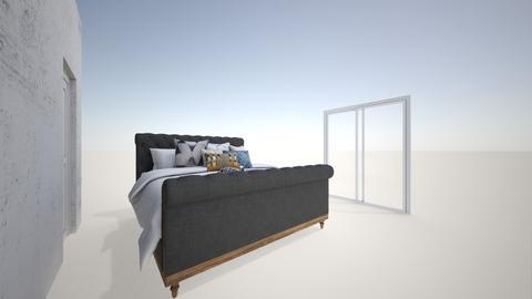 ultimate dark grey - Bedroom  - by ange06