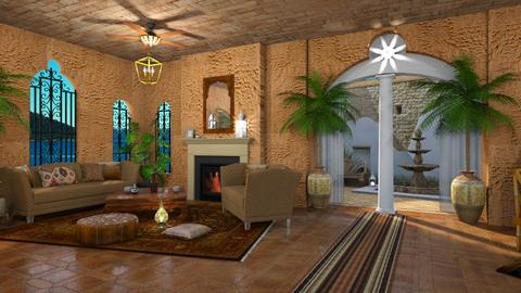Moroccan Living - Living room  - by ZsuzsannaCs