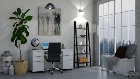 Rain - Office  - by LaylaaaarrrJF
