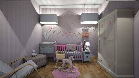 Baby Nursery Sall Simpson - Kids room  - by VICKIELOVESKOALAS1234