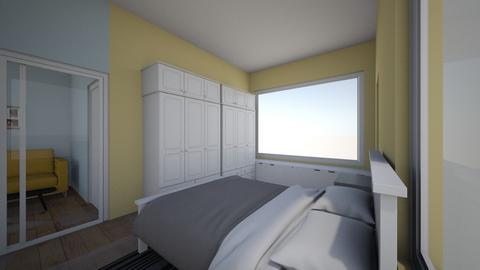 New Condo - Bedroom  - by Sternschanze