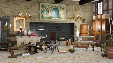 Jan Steen Living - Living room  - by jjp513