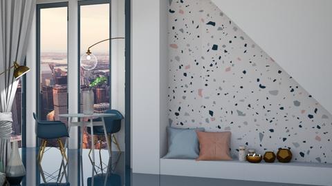 Terrazzo - Living room  - by KittyKat28