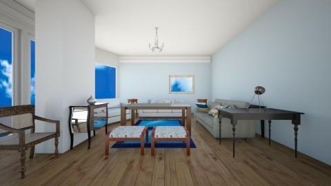 Living10 - Living room - by hala amroussy