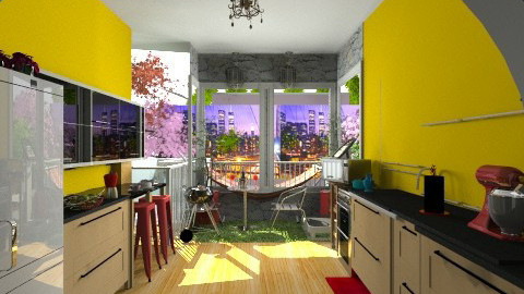 Demo Apartment by Jennife - Glamour - by JEN GRANT FRISKIELISKIE