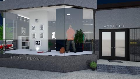 storefront - Modern - by nat mi